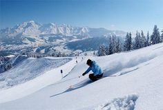The ski resorts of the French Alps (particularly St Gervais, Megeve and Les Contamines)
