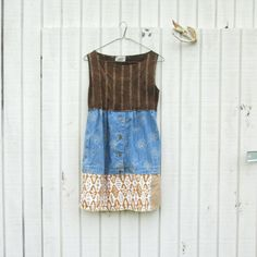altered clothing / funky dress /  upcycled tunic dress /  eco clothing  by CreoleSha, $82.00