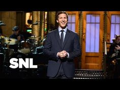 i skip the beginning but the impressions and surprise ending is cute :] Andy Samberg Impressions Monologue - Saturday Night Live - YouTube