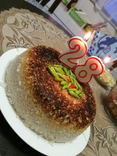 Scorched Rice Birthday Cake? No Y'all Didn't!