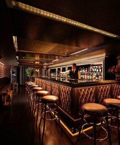 97 Best Lounge & Bar Design Images Ideas - Hotel, Bar and Restaurant - Restaurant Bar Lounge, Lounge Design, Design Hotel, Design Suites, Bar Interior Design, Restaurant Interior Design, Interior Ideas, Vintage Restaurant, Restaurant Lounge