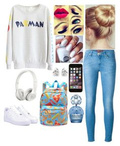 Monday by krmoore1180 on Polyvore featuring polyvore fashion style NIKE Georgini Beats by Dr. Dre Marc Jacobs