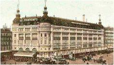 Almacenes Au Printemps, París. Printemps, Primavera, es el otro gran almacén de la época. Abrió sus puertas en 1865. Fue el primero en instalar ascensores en 1867 con motivo de la Exposición Universal.