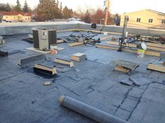 Calgary Roof Repair. #RoofRepair #Calgary. This client required an EPDM roof replacement as well as the installation of several gum cups. The report follows the day to day work conducted by the GRS crew. Roof Report, December 19, 2012: I arrived on site and filled out the safety documents, then…Calgary Roof Repair - Google+ Flat Roof Repair, Bragg Creek, Day Work, Calgary, Safety, December, Patio, Google, Outdoor Decor