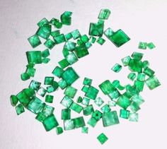5.00 Cts Natural Emerald Brazilian Loose Gemstone Square shape #Unbranded
