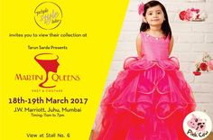 Purple Style Labs Invites You to view the collection of Pink Cow at Martini Queens #Fashion and #LifestyleExhibition on 18th – 19th March 2017 at JW Marriott Hotel Mumbai Juhu.  For Queries Contact @ 09811923456  #MartiniQueens #PinkCow #FashionExhibition #Lifestyle #Designer #Dresses #MumbaiExhibition