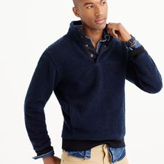 Grizzly fleece pullover jacket : grizzly fleece | J.Crew