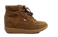 Isabel Marant Sneakers Bekket High-top Suede Coffee