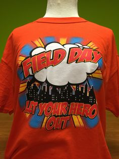 Fielddayusa.com Super Hero Themed Field Day!