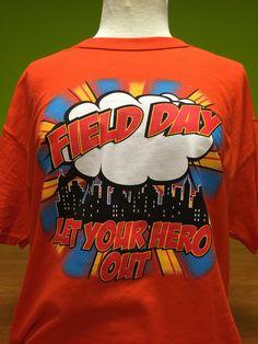 Fielddayusa.com Super Hero Themed Field Day!