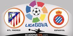Atlético Madrid vs Espanyol - Previsões de todos os grandes jogos da liga espanhola é na Academia de Tips. Madrid, Barcelona, Espanhol, Valência...