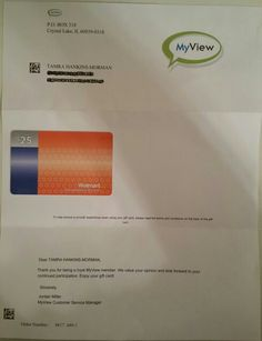 MyView gift card. Sign up for companies that actually #REWARD you for your time. #Free