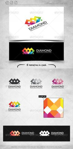Diamond Crown - Logo Template