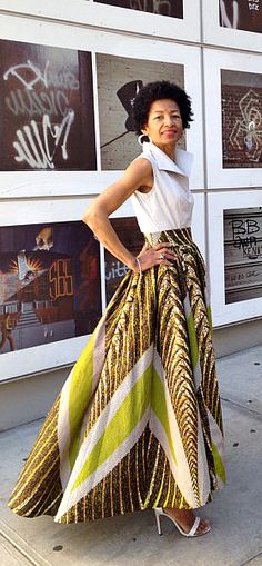 High-Low Maxi Skirt. Vlisco African Print. ◊ Full Skirt. ◊ Fully Lined. Ankara | Dutch wax | Kente | Kitenge | Dashiki | African print dress | African fashion | African women dresses | African prints | Nigerian style | Ghanaian fashion | Senegal fashion | Kenya fashion | Nigerian fashion (affiliate)