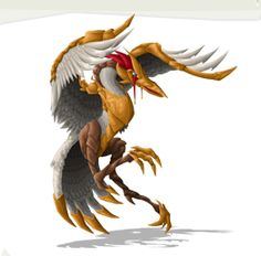 Asiparta (Indian) - The Asparta is the bird that tortures those condemned to the underworld called Yamapura. In this underworld, the Asparta awaits it's terrible duty, watching from tree of spears.