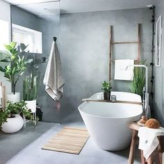 36 Awesome Spa Bathroom Decor Ideas You Must Have - Who wouldn't love their very own spa bathroom in their home? Although a spa bathroom can be a great addition to a home, it can also be a very expensiv. Modern Bathrooms Interior, Modern Bathroom Design, Bathroom Interior Design, Luxury Bathrooms, Modern Interiors, Relaxing Bathroom, Bathroom Spa, Bathroom Ideas, Budget Bathroom