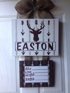 baby hospital door decorations, Baby Hospital door hanger, newborn hospital door wreath by Doodles4you on Etsy https://www.etsy.com/listing/240802684/baby-hospital-door-decorations-baby