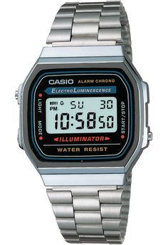 Montre Casio A168WA-1YES - Mine :D