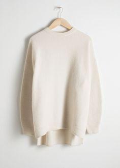 Oversized Wool Blend