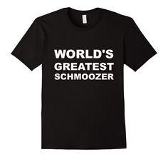 Funny Jewish Hebrew Yiddish Schmooze Shirt #schmooze #jewishhumor