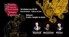 Premio Penisola Sorrentina XiX 2014 17•25 ottobre 2014 Piano di Sorrento Il viaggio dell'eroe .: Odisseo, il mito, i luoghi, le storie .: