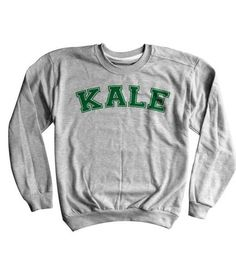 KALE Sweatshirt - Luxury Brand LA - Shop Latest Trends & Hottest Apparel from Luxury Brand LA
