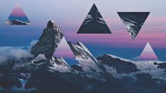 Mountain wallpaper by Hana Saller