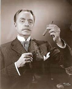 William Powell as Clarence Day Sr. in Life with Father
