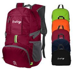 EcoCity Ultra-light Foldable Multipurpose Backpacks for Camping, Hiking, Trekking, Mountain and Climbing With Hydration System *** Be sure to check out this awesome product.