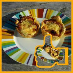 Lekker en leuk!: Hartige muffin met kipfilet