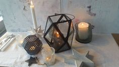 blcak and white xmas Candle Holders, Xmas, Candles, Natal, Christmas, Porta Velas, Weihnachten, Candle Sticks, Candle