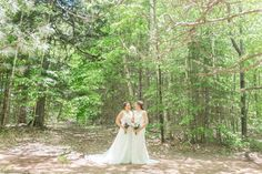 Two Brides. Lesbian Wedding, Lesbian Love, Two Brides, Family Affair, Engagements, Beautiful Bride, Real Weddings, Couples, Wedding Dresses