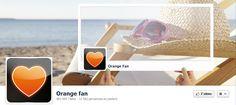 Orange Fan - couverture Facebook été 2012