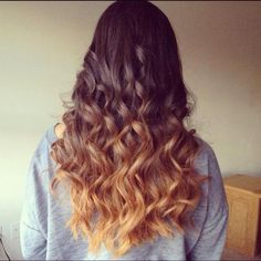 Beautiful faded blonde ombre
