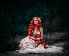 Beautiful Girl like Fashition Fantasy Photography, Portrait Photography, Fantasy Women, Fantasy Art, Fuchs Baby, Fox Girl, Hair Art, Redheads, Red Hair