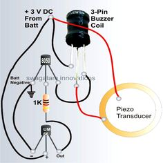 , How To Make A Bicycle Horn With Ringtone Circuit Electronic Parts Of Bicycl:  Thumbnail