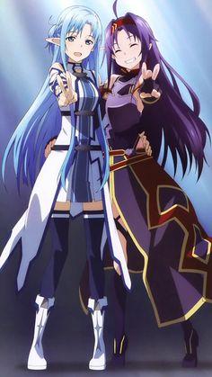 Asuna and Yuki//SAO