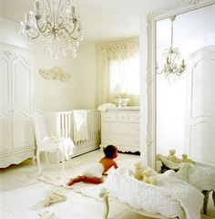 Angelic Nursery Chic Ideas Inspiration Elegant Baby