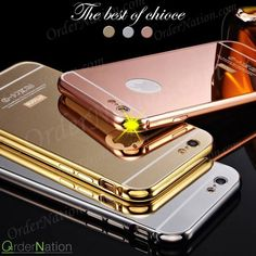 Rs 1000 (Free Delivery) (Cash on delivery) Luxury Mirror Aluminum Metal Back  Bumper Case  Available in: iPhone: 5 6 6s 6 plus 6s plus Samsung: Note 3 Note 4 S3 S4 S5 S6 S6 edge S6 edge  A3 A5 E7 Core Prime Grand Prime J1 (J5 J7 Note 5 HUAWEI P8 LITE HONOR 4C 4X) How to place order: - Inbox us on Facebook - Whatsapp us : 03064744465 Website : http://ift.tt/1PdwQEJ - http://ift.tt/1MNMhRR