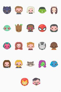 Yes, I realize I just posted these adorable IW emojis, but I'm saving this one in case I should ever want to use them, and thus would need a white background around the characters.