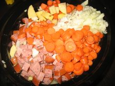 Crock Pot Cheesy Sausage and Vegetable Soup | Stacy Makes Cents