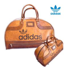 fdbd9bb482 Adidas vintage sports bag 1970s by artandme on Etsy