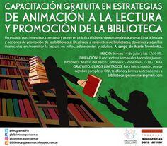 Estrategias de animación a la lectura y promoción de la biblioteca | LITERARIAS | Por Gabriela Mariel Arias