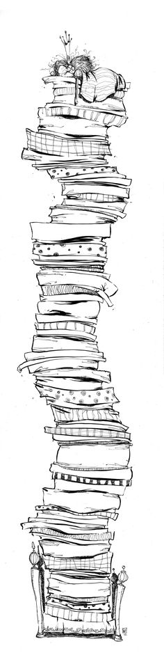 This is How i feel today!   Princess and the Pea by skottieyoung.deviantart.com