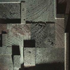 Butt-form concrete.