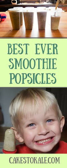 BEST EVER SMOOTHIE POPSICLES RECIPE VIDEO INCLUDED