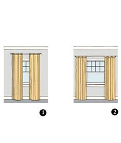 Paralyzed by the prosect of choosing curtains and drapes? This quick primer will give you the know-how to find the right window treatments for every spot in your home. Window Curtains, Home Organization, Window Treatments, Home Organisation, Organizing Tips