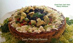 """Savory Fiesta Lentil Cheesecake 