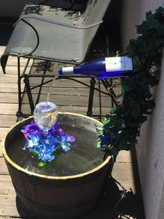 Follow these easy,  step by step instructions on how to create your own, personalized, wine bottle fountain.  Included are a list of materials and tools needed.