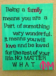 #Family is what life is all about.